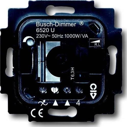 Busch-Jaeger Dimmer-Einsatz mit Drehbetätigung 6520 U
