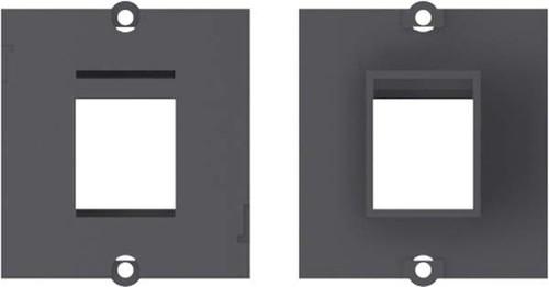 Bachmann Rahmen 1xKeystone schwarz 917.001