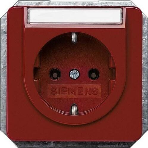 Siemens Indus.Sector Schuko-Steckdose 10/16A 250V 5UB1476