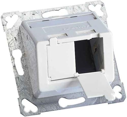 Corning Rahmenset RAL 9010 WAXWSE-V0201-C001