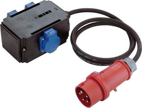 Bachmann CEE-Adapter 1xSt.16A 3xSchuko 349.027