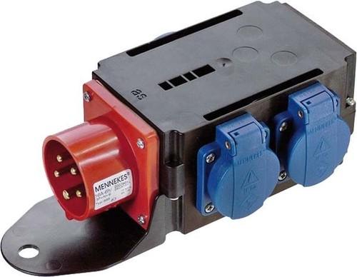 Bachmann CEE-Adapter 1xSt.16A 400V 3xSchu 349.028