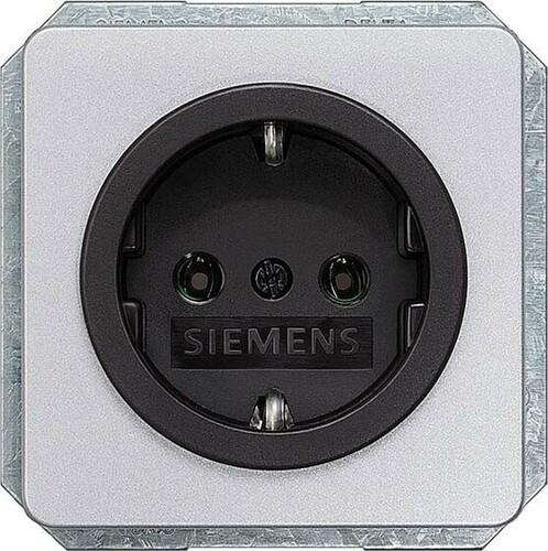 Siemens Indus.Sector Abdeckplatte Silber 5UH1055