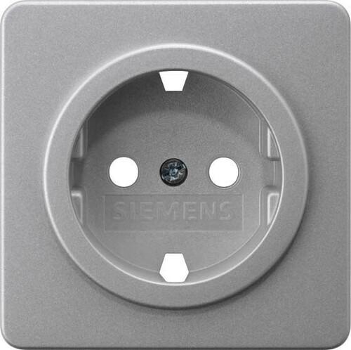Siemens Indus.Sector Abdeckplatte Silber 5UH1064