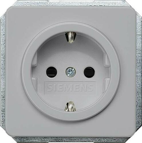Siemens Indus.Sector Schuko-Steckdose Delta Profil 5UB1468