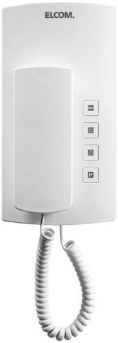 Elcom Audio-Haustelefon i2-Bus, weiß BHT-200 weiß