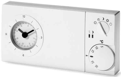 Eberle Controls Uhrenthermostat easy 3 w