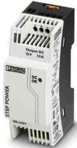 Phoenix Contact Stromversorgung Ausg. 12VDC/1,5A STEP-PS/1AC/12DC/1.5