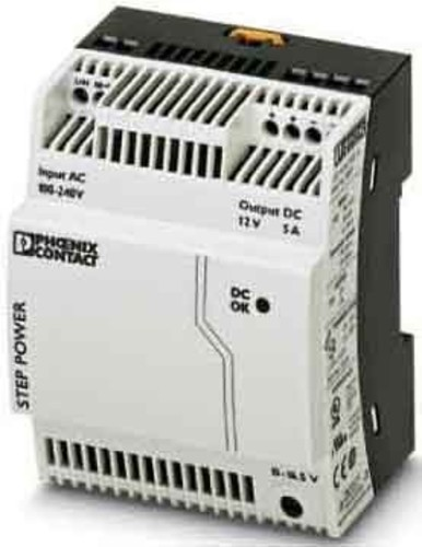 Phoenix Contact Stromversorgung Ausg. 12VDC/5A STEP-PS/ 1AC/12DC/5