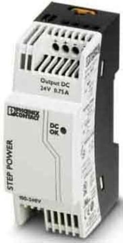 Phoenix Contact Stromversorgung Ausg. 24VDC/0,75A STEP-PS/1AC/24DC0.75