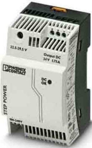 Phoenix Contact Stromversorgung Ausg. 24VDC/1.75A STEP-PS/1AC/24DC1.75