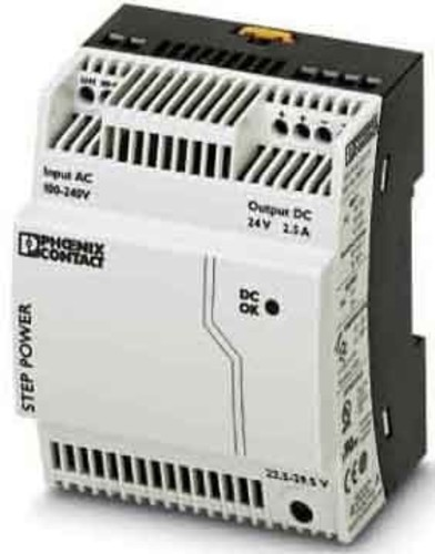 Phoenix Contact Stromversorgung Ausg. 24VDC/2.5A STEP-PS/1AC/24DC/2.5