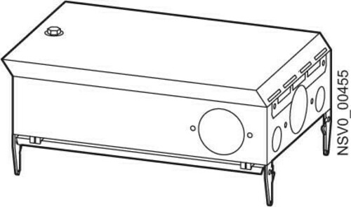 Siemens Indus.Sector Abgangskasten 63A 1x 3pol. S33 BD2-AK02X/S33