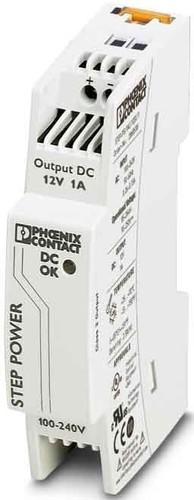 Phoenix Contact Stromversorgung 12VDC/1A 1ph. STEP-PS/ 1AC/12DC/1