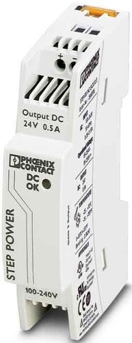 Phoenix Contact Stromversorgung 24VDC/0,5A 1ph. STEP-PS/1AC/24DC/0.5
