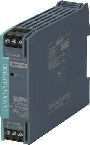 Siemens Indus.Sector Stromversorgung 1-ph,24VDC,0,6A,IP20 6EP1331-5BA00