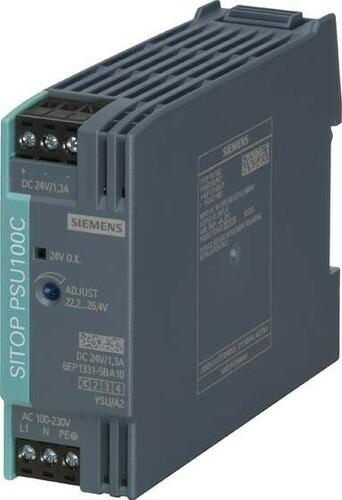 Siemens Indus.Sector Stromversorgung 1-ph,24VDC,1,3A,IP20 6EP1331-5BA10