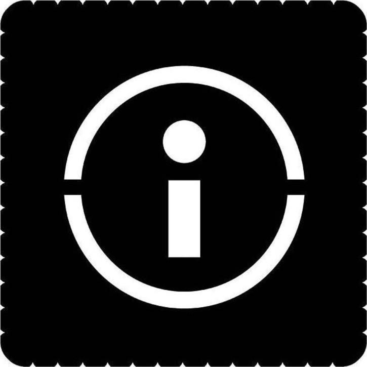 Busch-Jaeger Piktogramm Infopunkt für 2068/14-xxx 2144/59-19
