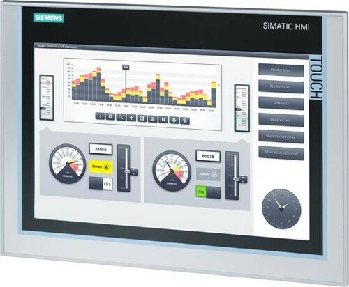 Siemens Indus.Sector TFT-Panel TP1200 12 Zoll 6AV2124-0MC01-0AX0