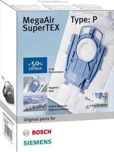 Bosch SDA Austauschfilter MegaAir VS08/BSG BBZ41FP (VE4+1)