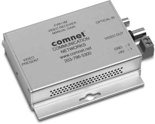 Comnet Glasfaserempfänger Video 1K 850nm Multimode FVR11M