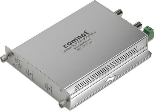 Comnet Glasfaserempfänger Video 2K 850nm Multimode FVR22