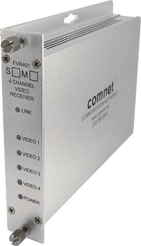 Comnet Glasfaserempfänger DeMult 4K 1310nm Multimode FVR401M1