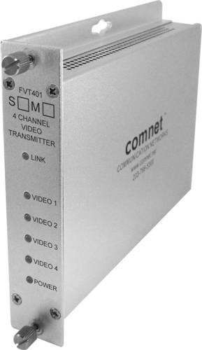 Comnet Glasfasersender Multipl. 4K 1310nm Multimode FVT401M1