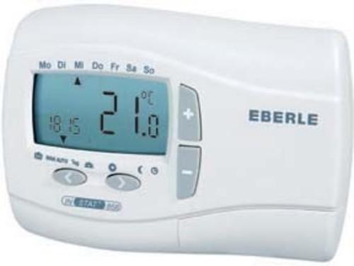Eberle Controls Uhrenthermostat Funksender mit Uhr INSTAT + 868