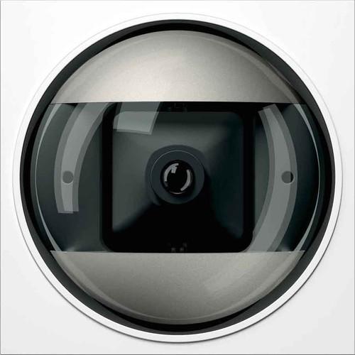 Ritto Portier Kameramodul Col. weiß, 95x95x33mm 1 8783/70