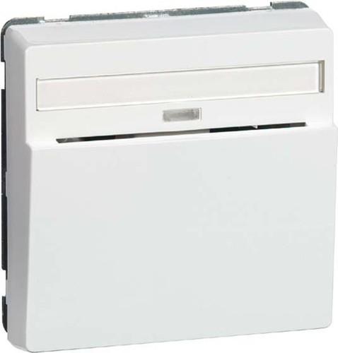 Peha Hotel-Card-Schalter reinweiß 1-pol.Beschriftung D 80.556.02 HC GLK