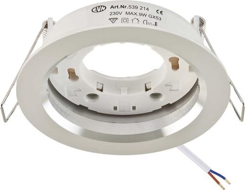 EVN Lichttechnik Einbauleuchte 1-flammig, starr 539 214 alu