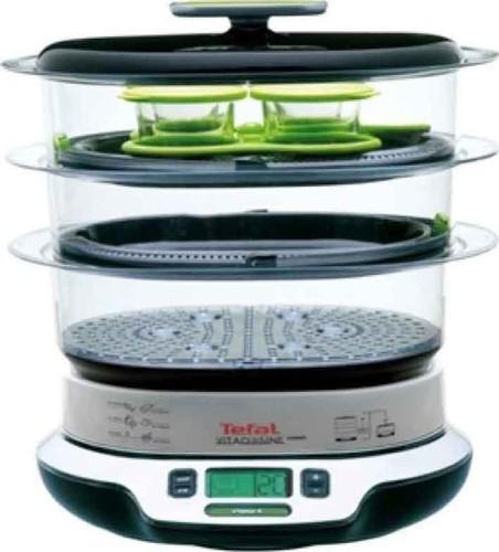Tefal Dampfgarer Vita Cuisine Compact VS 4003 sw/si