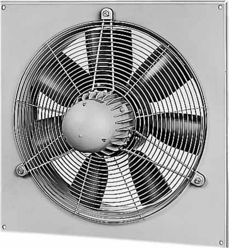 Helios Ventilatoren Axial-Wandventilator, 230 W, Luftdurchsatz 191 HQW 250/2