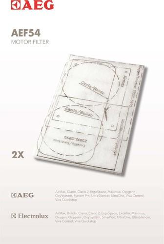 Electrolux AEG SDA Motorzuschnittfilter f.s-bag-Modelle AEF54 (VE2)