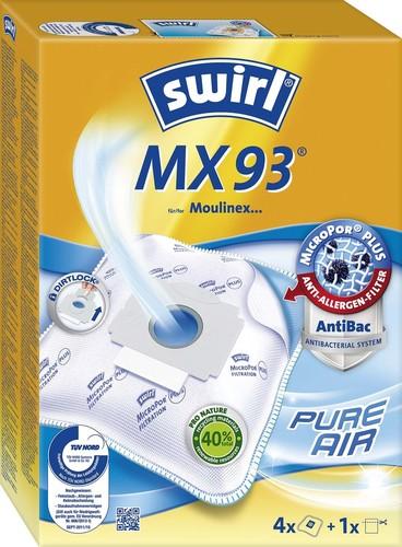 Melitta SDA Staubbeutel für Moulinex MX 93/5MPPlusAirSVE4