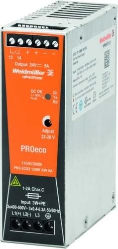 Weidmüller Schaltnetzgerät PRO ECO3 120W 24V 5A