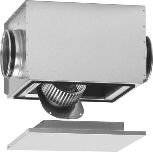 Helios Ventilatoren Rohrventilator 1 PH schallgedämpft SB 125 A