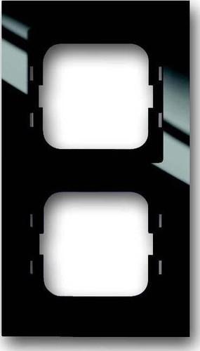 Busch-Jaeger Rahmen 2-fach schwarz 1722-281