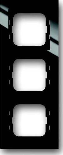 Busch-Jaeger Rahmen 3-fach schwarz 1723-281