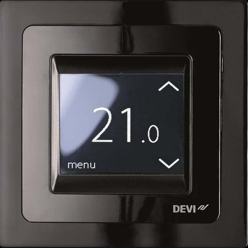 Devi Uhrenthermostat Touch-Display, 16A DEVIreg Touch sw