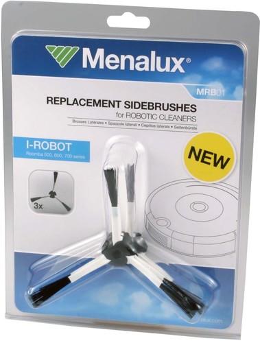 Menalux MENA Seitenbürsten-Set iRobot Roomba500-700 MRB01 (VE3)