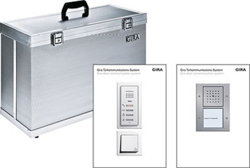 Gira Präsentationskoffer Audio Präsentation 1709110