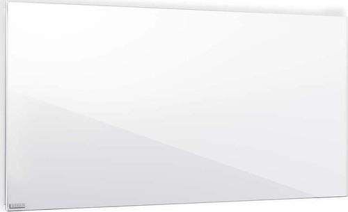 Etherma Glasheizkörper 0.6kW,Reinweiß LAVA2-GLAS-600-PW