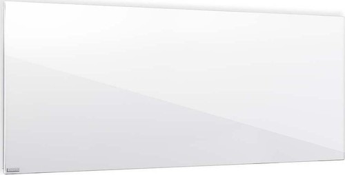Etherma Glasheizkörper 0.8kW,Reinweiß LAVA2-GLAS-800-PW