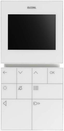 Elcom Video-Freispr.-Hausstation BVF-210 WS