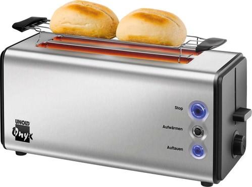 Unold Toaster OnyxDouplex,4Scheib 38915 eds/sw