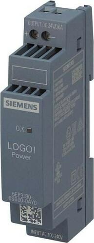 Siemens Indus.Sector LOGO!POWER 24V/0,6A 6EP3330-6SB00-0AY0