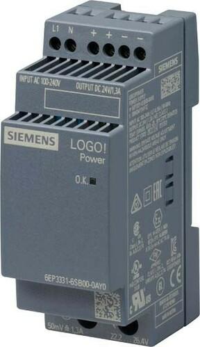 Siemens Indus.Sector LOGO!POWER 24V/1,3A 6EP3331-6SB00-0AY0