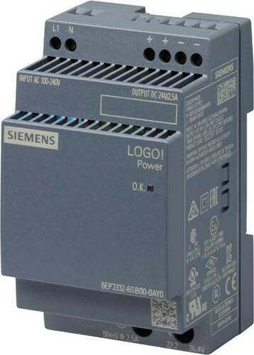 Siemens Indus.Sector LOGO!POWER 24V/2,5A 6EP3332-6SB00-0AY0
